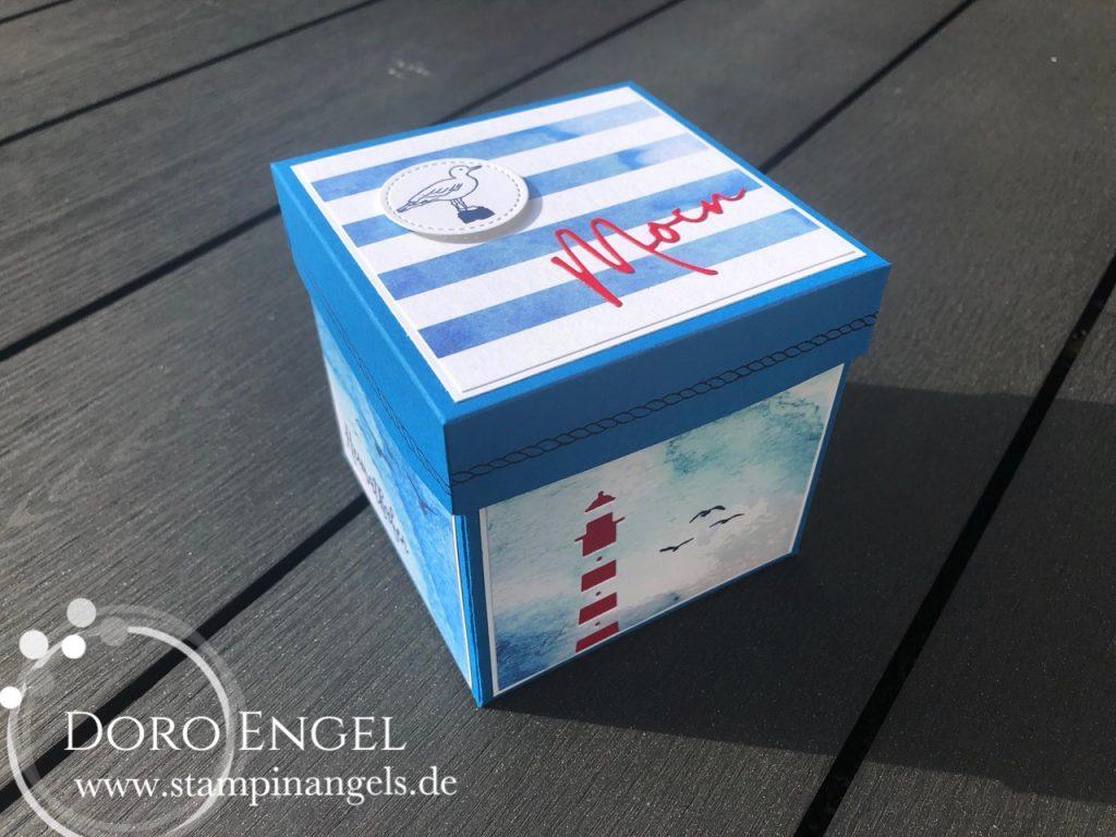 Norddeutsche Explosionsbox - Ansicht von oben